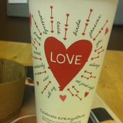 Photo taken at Starbucks by Maria M. on 2/13/2012