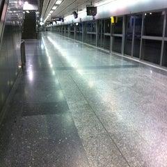 Photo taken at MRT สีลม (Si Lom) SIL by Vieww L. on 8/10/2011
