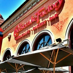Photo taken at The Cheesecake Factory by Amy K. on 7/9/2012