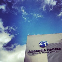 Photo taken at Audencia Nantes by Tiziano T. on 9/11/2012