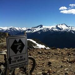 Photo taken at Whistler Mtn. Peak by Gerard R. on 8/4/2012