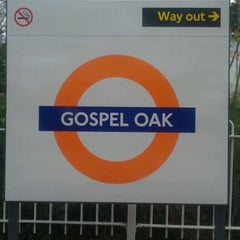 Photo taken at Gospel Oak London Overground Station by Gbenga M. on 5/19/2012