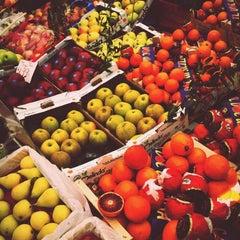 Photo taken at Mercato di via Fauche by Elisa D. on 4/21/2012