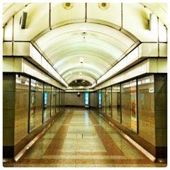 Photo taken at Angel London Underground Station by Fabien B. on 3/13/2012