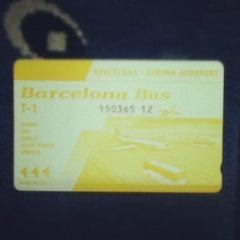 Photo taken at Barcelona Bus by Kostya V. on 7/12/2012