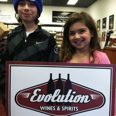 Photo taken at Evolution Wines by Brian R. on 12/26/2011
