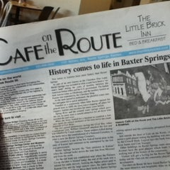 Photo taken at Cafe on the Route by Roger F. on 5/31/2012