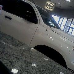 Photo taken at San Marcos Toyota by Maria E. on 10/15/2011