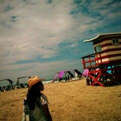 Photo taken at Playa de Canoa by María Cristina M. on 12/31/2011