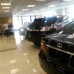 Photo taken at Lexus of Manhattan by Alan K. on 9/8/2012
