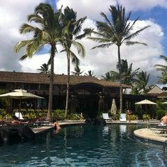 Photo taken at Ko'a Kea Hotel & Resort by Diane M. on 9/2/2011