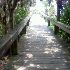 Photo taken at Cocoa Beach by Kathleen R. on 6/10/2012