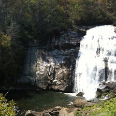 Photo taken at Turtle Back Falls by Taylor F. on 4/14/2012
