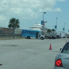 Photo taken at Cruise Terminal Lot B by Nicole S. on 9/6/2012