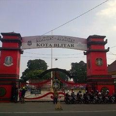 Photo taken at Alun Alun Kota Blitar by Rave79ers R. on 8/16/2012