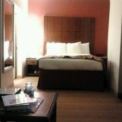 Photo taken at Residence Inn by Marriott Beverly Hills by Alexandra R. on 1/12/2012