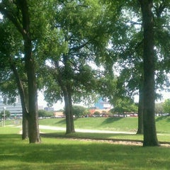 Photo taken at Trinity River Park by Judy S. on 4/16/2012