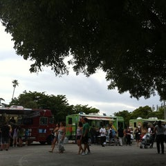 Photo taken at Tropical Park Food Trucks by Flavia F. on 7/26/2011