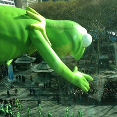 Photo taken at Macy's Parade & Entertainment Group by Adam B. on 11/24/2011