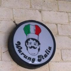 Photo taken at Warung Italia by agunk w. on 2/16/2012