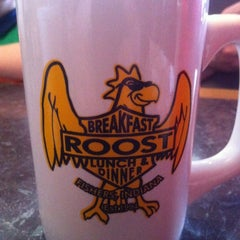 Photo taken at The Roost Restaurant by Jane M. on 5/6/2012