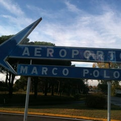 Photo taken at Aeroporto di Venezia Marco Polo (VCE) by Iris P. on 10/27/2011