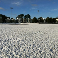 Photo taken at Healy Field by Stephanie C. on 10/30/2011