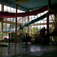 Photo taken at Mayan Adventure Waterpark by Ajaii Knight A. on 8/18/2012
