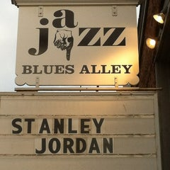 Photo taken at Blues Alley by Teri C. on 3/16/2012