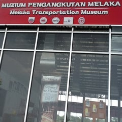 Photo taken at Muzium Pengangkutan Melaka by Yek L. on 3/25/2012