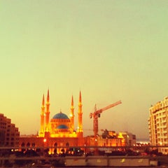 Photo taken at Mohammed Al-Amin Mosque by Tina H. on 11/20/2011