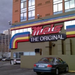 Photo taken at Mel's Diner by Antha F. on 12/13/2011