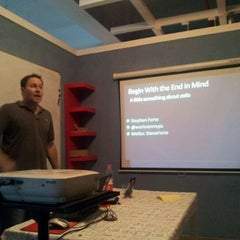 Photo taken at ChaiHuo 柴火 Hackerspace by Michael M. on 4/25/2012