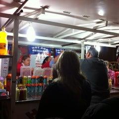 Photo taken at Hot Dog Benassi by Leonardo P. on 7/23/2012