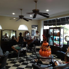 Photo taken at Tracy & Co Hair Designers by Darlene M. on 11/22/2011