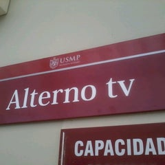 Photo taken at AlternoTV by Maite A. on 8/20/2012