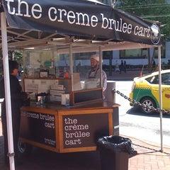 Photo taken at The Crème Brûlée Cart by Beth S. on 7/12/2012