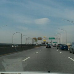 Photo taken at Long Island Expressway (LIE) (I-495) by Andrew C. on 12/30/2011