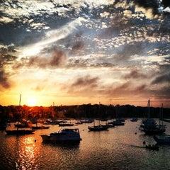 Photo taken at Vineyard Haven Harbor by Amanda R. on 8/12/2012