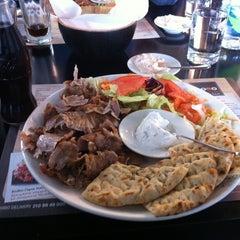 Photo taken at Bobo Souvlaki House by Otto A. on 2/26/2012