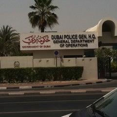 Photo taken at Dubai Police General H.Q. القيادة العامة لشرطة دبي by Vyenne T. on 5/13/2012