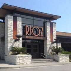 Photo taken at Rioz Brazilian Steakhouse by Morgan on 7/3/2012