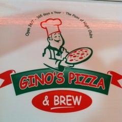 Photo taken at Gino's Pizza & Brew by GabJoe on 4/10/2012