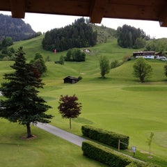 Photo taken at Rasmushof Hotel Kitzbühel by Georg E. on 5/19/2012