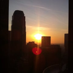 Photo taken at The Westin Bonaventure Hotel & Suites, Los Angeles by Dustin M. on 2/3/2012