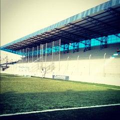 Photo taken at Estádio Passo D'Areia (Zequinha) by Eduardo C. on 8/10/2012