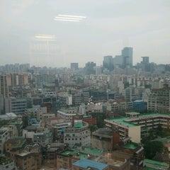 Photo taken at JW 타워 (JW-Group) by Joongmo L. on 7/10/2012