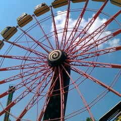 Photo taken at Carowinds by Adam W. on 8/16/2012