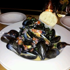 Photo taken at Crêpe Cellar Kitchen & Pub by @sullybridgetb on 8/26/2012