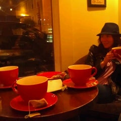 Photo taken at Jaho Coffee Roasters by Angela G. on 6/2/2012